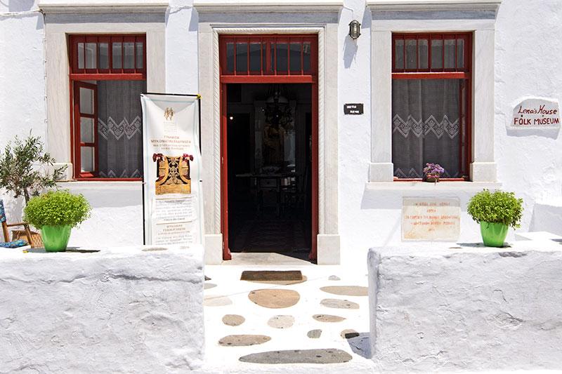 Το σπίτι της Λένας - Λαογραφικό Μουσείο Μυκόνου